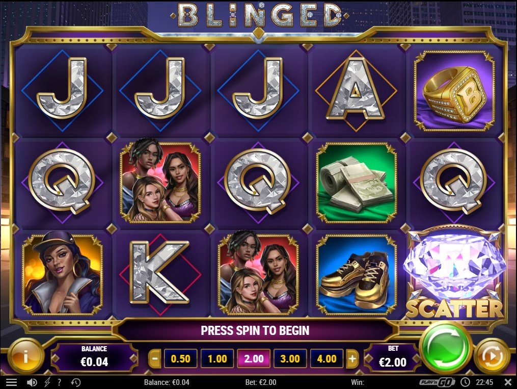 Blinged – New Slot From PlaynGO