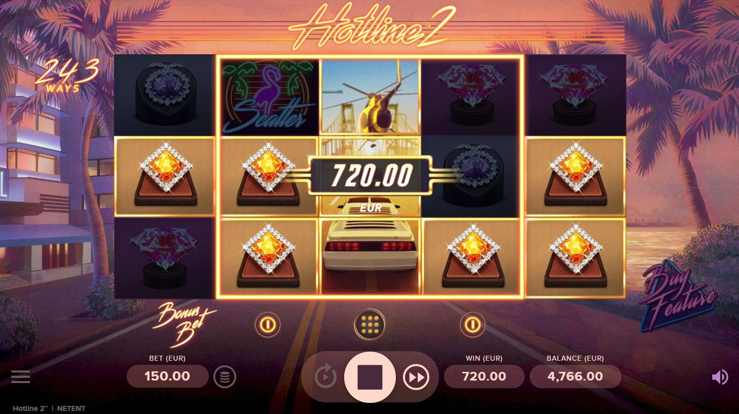 Hotline 2 – New Slot Game From Netent