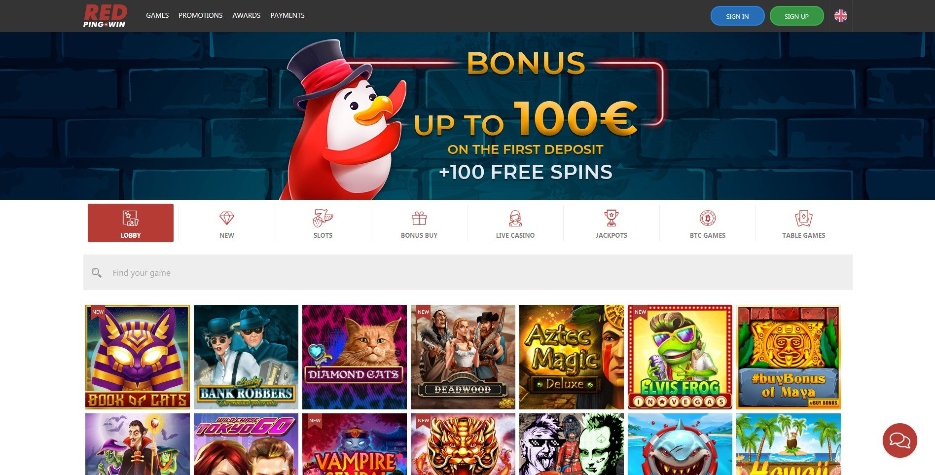 Red Ping Win Casino