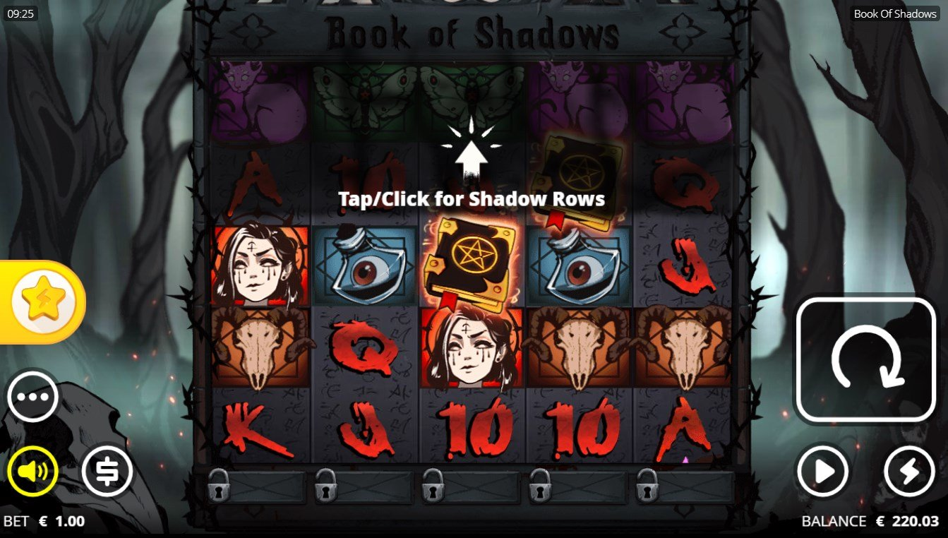 Book of Shadows – Nolimit City – Review