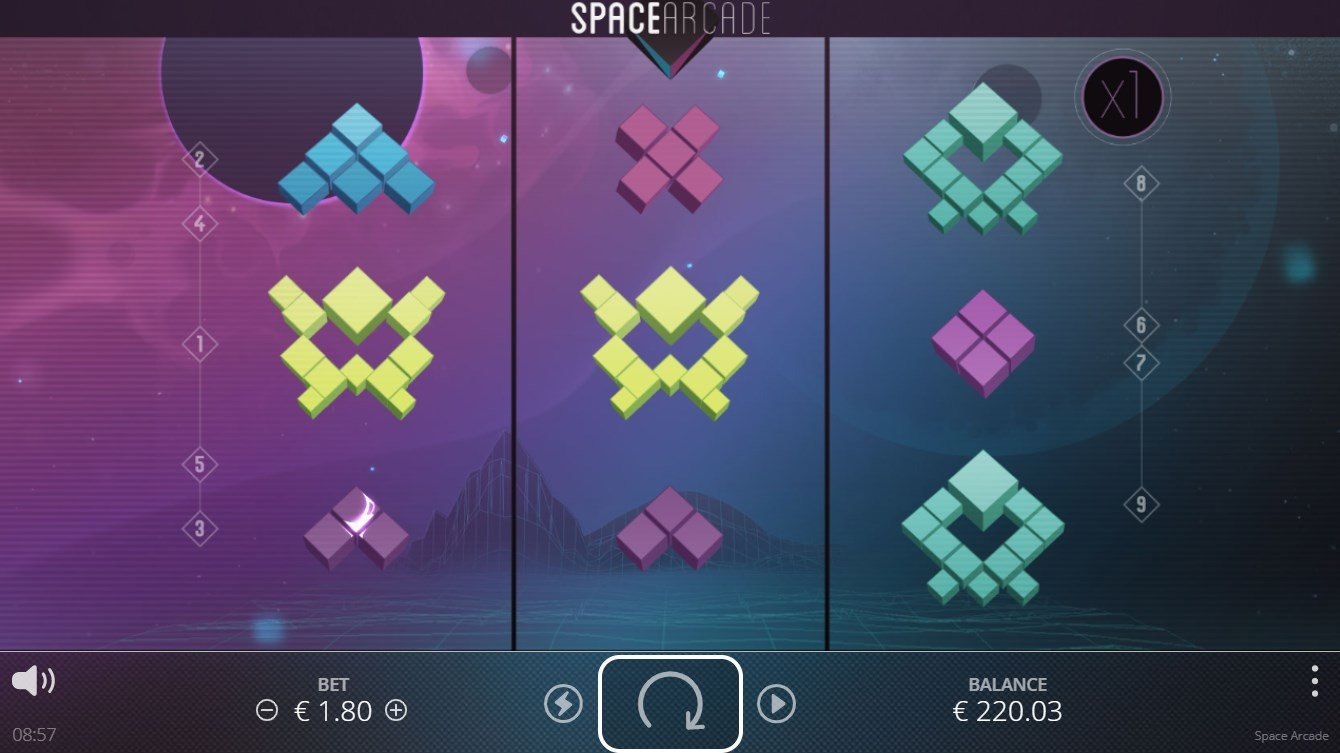 Space Arcade – Nolimit City – Review