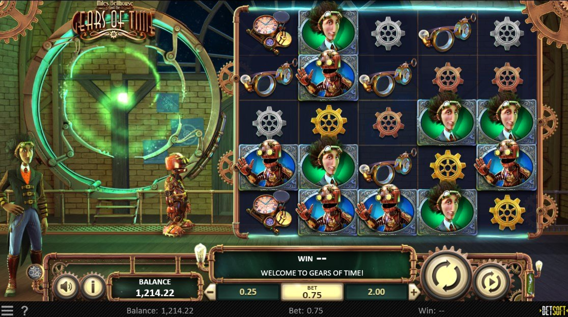 Miles Bellhouse and the Gears of Time Game – Betsoft – Review