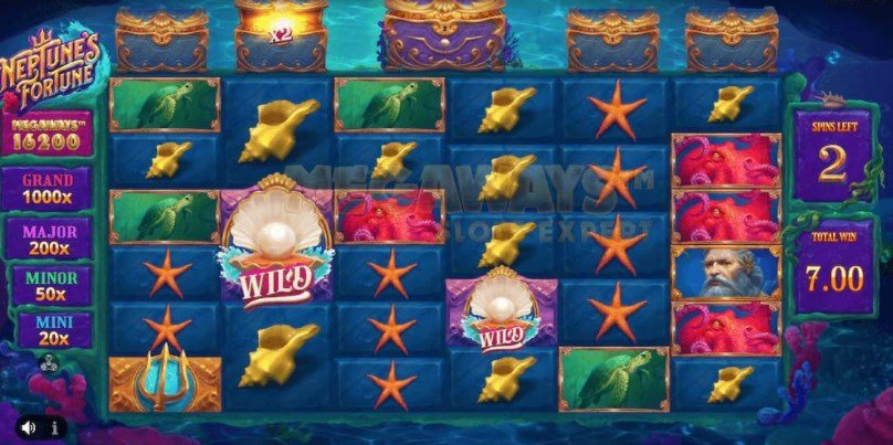 Neptunes Fortune Megaways From iSoftBet