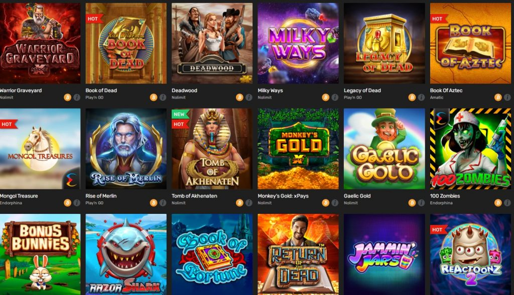 Winz.io Casino Games