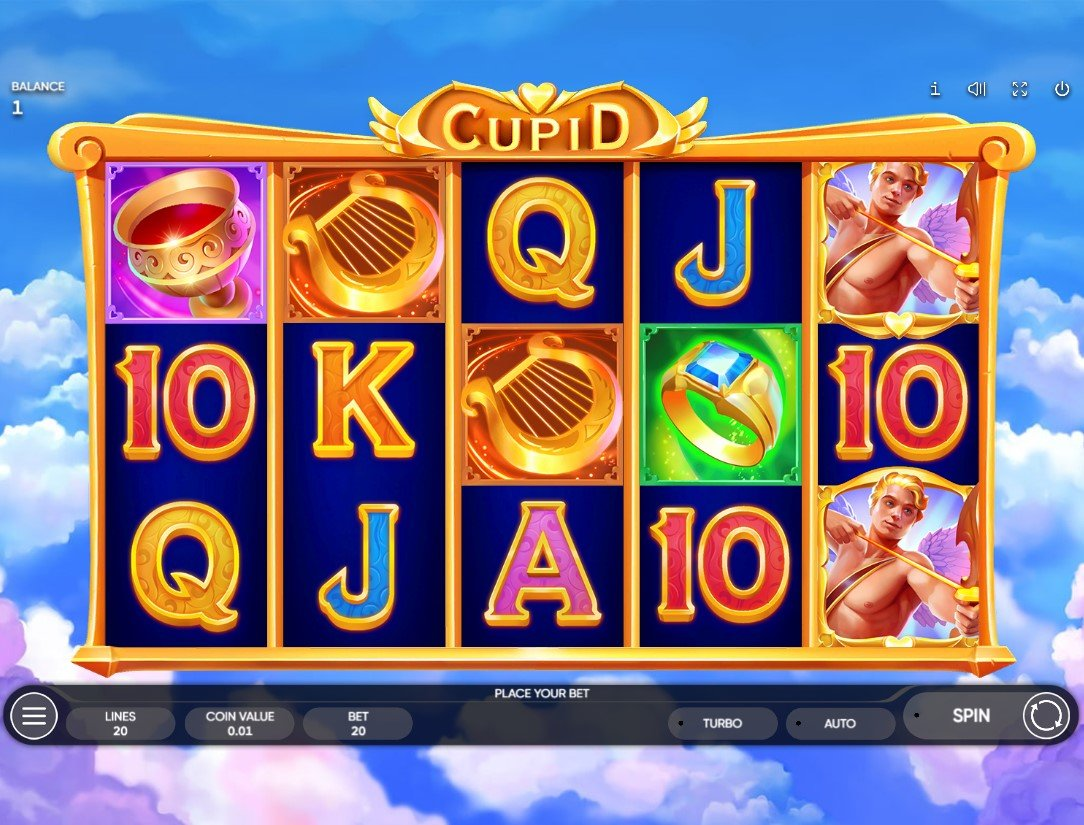 Cupid – New Slot From Endorphina