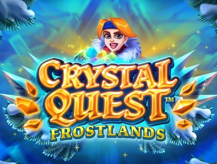 Crystal Quest Frostland New Casino Slot Game From Thunderkick