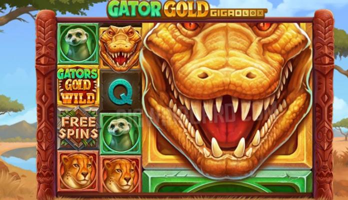 Gator Gold Gigablox – New game from Yggdrasil