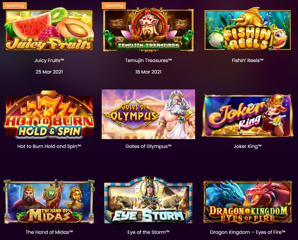 Two new online casino games