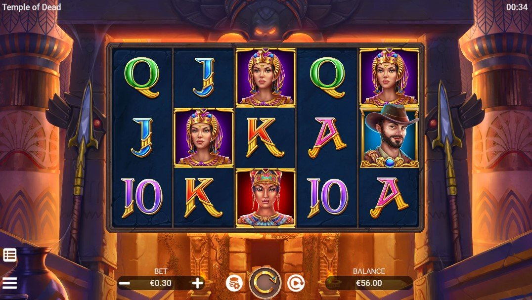Temple of Dead – New Slot From Evoplay