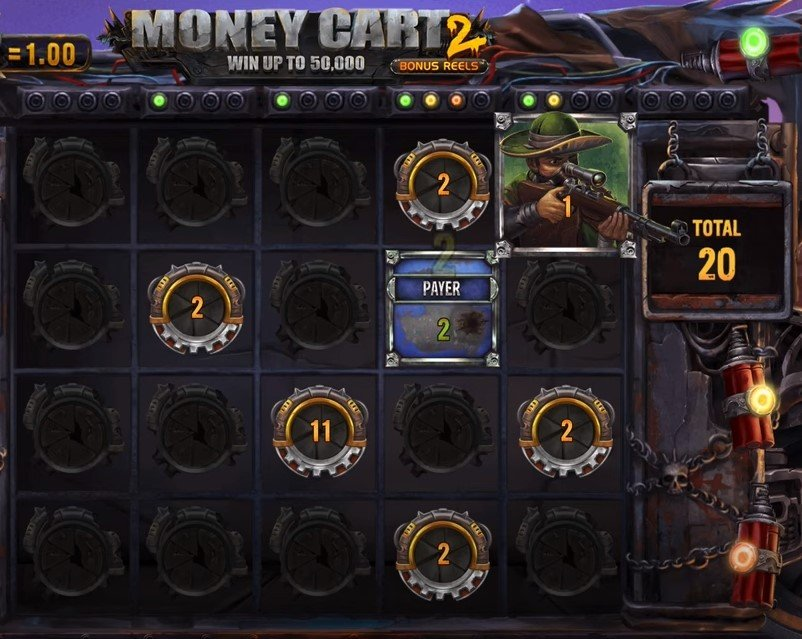 Money Cart 2 – Slot From Relax Gaming