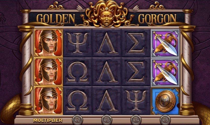 Golden Gorgon – New Slot From Yggdrasil