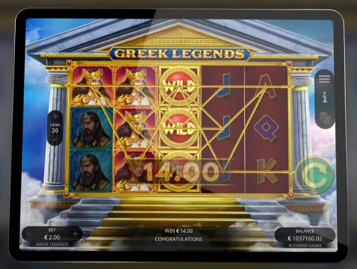 Greek Legends – Slot From Booming Games