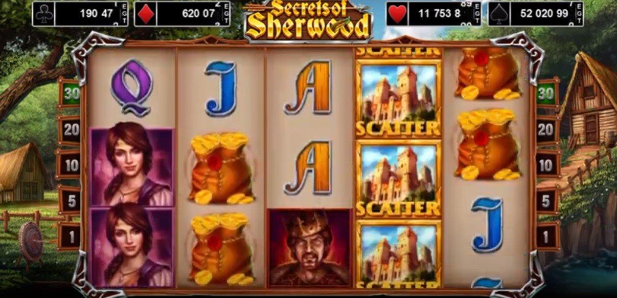 Secrets Of Sherwood – New Slot From EGT