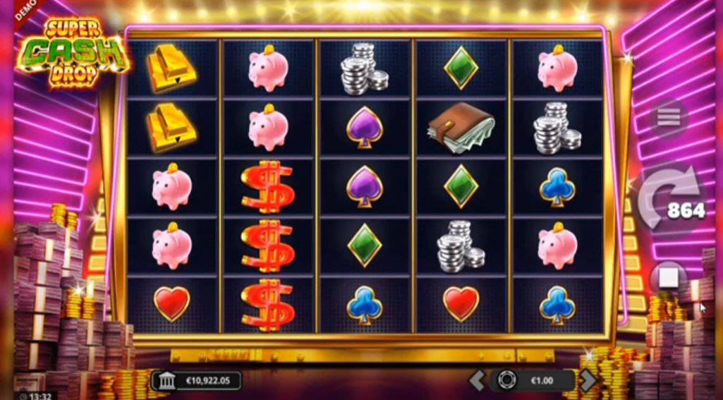 Super Cash Drop – New Slot From Yggdrasil