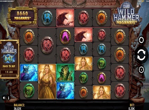 Wild Hammer Megaways – New Slot From iSoftBet
