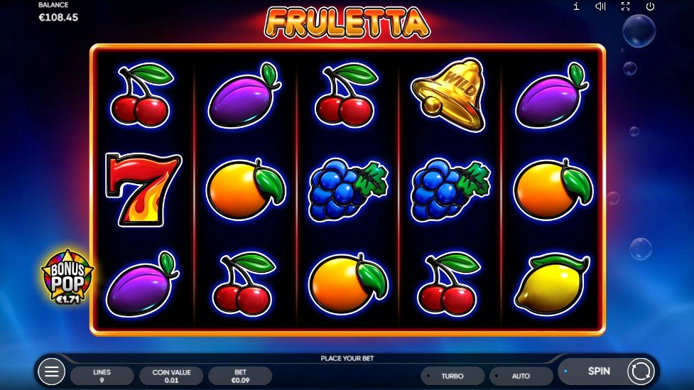 Fruletta: From Endorphina (launched 2021 July)