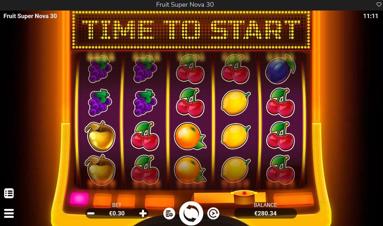 Fruit Super Nova 30 – New Slot From Evoplay
