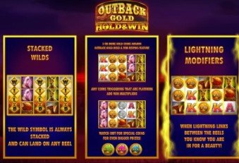 Outback Gold : Hold And Win – New Slot From iSoftBet